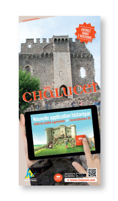 Application « Forteresse de Châlucet » - Flyer